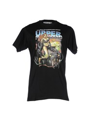 Upper Playground Topwear T Shirts Black