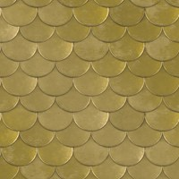 Tempaper Brass Belly Removable Wallpaper Sample Swatch