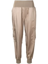 Cinq A Sept Giles Trousers Brown