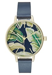 Kiomi Watch Navy Dark Blue