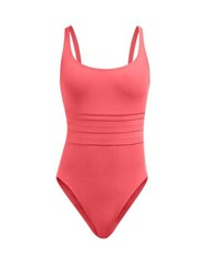 Eres Les Essentials Duni Asia Ribbed Swimsuit Pink