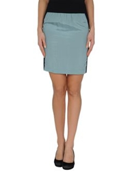 Mauro Gasperi Knee Length Skirts Light Green