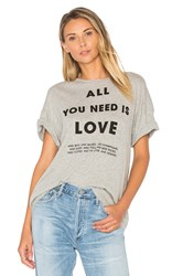 Wildfox Couture List Of Demands Tee Gray