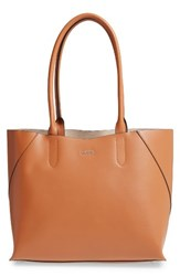 Lodis Blair Collection Cynthia Leather Tote Brown Toffee Taupe