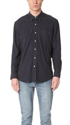Our Legacy Silk Classic Shirt Navy