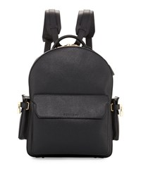 Buscemi Phd Men's Leather Backpack Black
