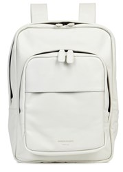 Common Projects Off White Leather Backpack