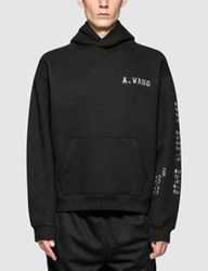 Alexander Wang Hoodie With Credit Card Decal