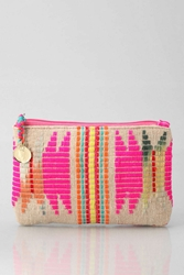 Urban Outfitters Woven Jute Makeup Bag Assorted