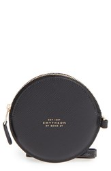 Smythson Women's Circle Leather Coin Purse
