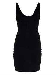 Alexander Wang Stretch Nylon Fitted Dress