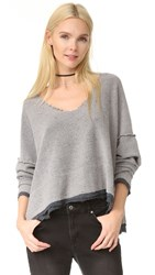 Free People Dolman Pullover Graphite