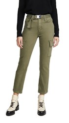 Good American Cargo Legs Pants Olive009