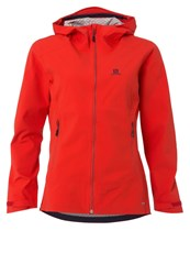 Salomon Nebula Hardshell Jacket Infrared