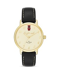 Kate Spade New York Night Owl Metro Watch 34Mm White