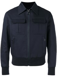 Neil Barrett Bomber Jacket Blue