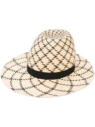 Henrik Vibskov Big Shady Hat Women Straw 57 Nude Neutrals