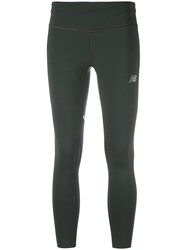 New Balance Sprint Cropped Leggings Green