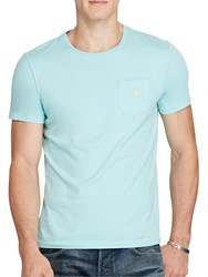 Polo Ralph Lauren Custom Fit Pocket T Shirt True Aqua