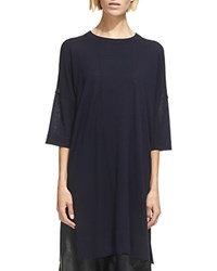 Whistles Gelsey Oversized Knit Tunic Navy