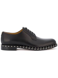 Valentino Studded Derby Shoes Men Leather 41.5 Black