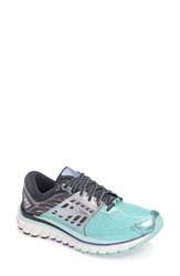 Brooks Women's 'Glycerin 14' Running Shoe Aruba Blue Anthracite Purple