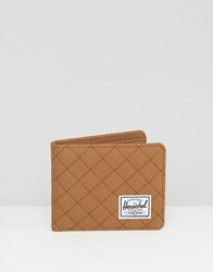 Herschel Supply Co Roy Quilted Wallet Brown