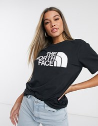 The North Face Half Dome T Shirt In Black