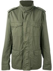 Tod's Field Jacket Green