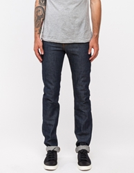 Naked And Famous Skinny Guy Dirty Fade Selvedge Indigo