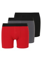 Sloggi Shorts Red Dark Combination Black