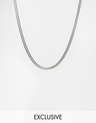 Reclaimed Vintage Silver Chain Necklace