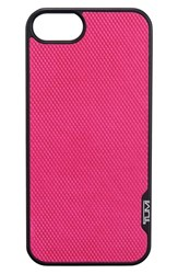 Tumi 'Prism' Leather Iphone 5 And 5S Case Pink Fuchsia