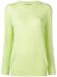 Ermanno Scervino Embroidered Logo Jumper Green
