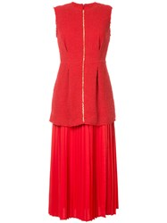 Mother Of Pearl Rona Dress Red