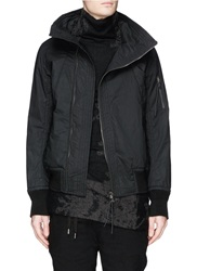 The Viridi Anne Asymmetric Zip Front Thinsulate Jacket Black