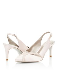 Jacques Vert Piped Point Shoe Neutral