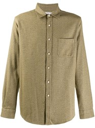 Portuguese Flannel Bush Shirt Green