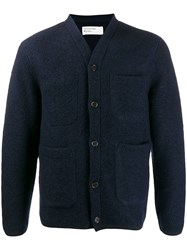 Universal Works Buttoned Front Jacket Blue