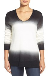 Women's Two By Vince Camuto Dip Dye Pullover Sweater
