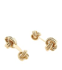 Tom Ford Gold Knotted Cufflinks