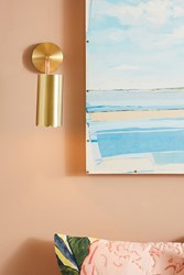 Anthropologie Daisy Sconce Gold