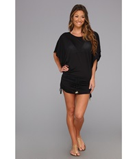 Luli Fama Cosita Buena South Beach Dress Cover Up Black Women's Swimwear