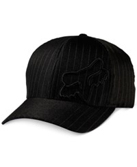 Fox Hat Flex 45 Hat Black Pinstripe