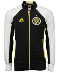 Adidas Men's Columbus Crew Sc Anthem Jacket Black White Yellow