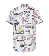 Kenzo Hot Dog Shirt Male White