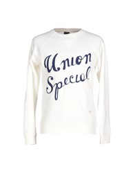 People Topwear Sweatshirts Men White