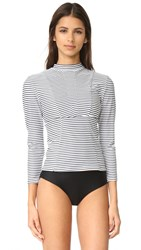 Mikoh Lowers Rash Guard Vintage Sailor Night