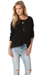 Wilt Basic Big Sweatshirt Black