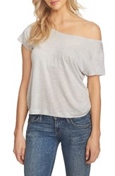 1.State Women's One Shoulder Tee